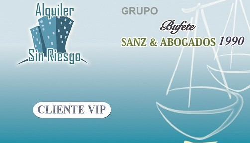 Tarjeta VIP de la franquicia inmobiliaria Alquiler Sin Riesgo