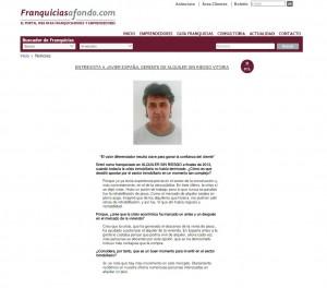Entrevista al Gerente de Alquiler Sin Riesgo Vitoria