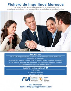 Rótulo Informativo del Fichero de Inquilinos Morosos (FIM)